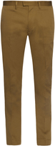 Acne Studios Max Satin slim-leg stretch-cotton trousers