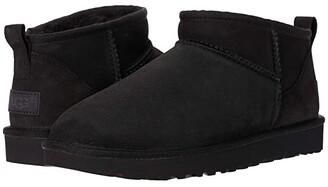 UGG Classic Ultra Mini (Black) Women's Shoes