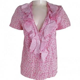Comme des Garcons Pink Cotton Top for Women