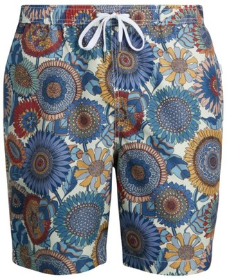 Onia Charles Floral-Print Swim Trunks