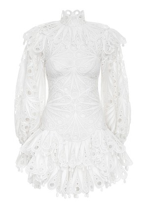 Zimmermann Glassy Bubble Mini Dress