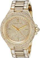 Michael Kors Women's MK5720 Camille Pavé Quartz -Tone Stainless Steel Watch