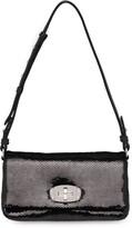 Miu Miu sequin embellished shoulder bag