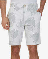 "Nautica Men's 9-1/2"" Slim-Fit Leaf-Print Shorts"