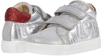 Naturino Falcotto Goyle VL AW20 (Toddler) (Silver) Girl's Shoes