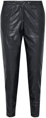 Muu Baa Muubaa Metallic Leather Trousers