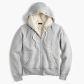 J.Crew Shearling hoodie