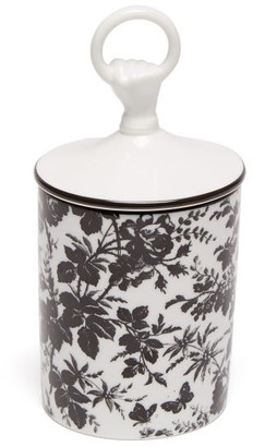 Gucci Herbarium Floral Scented Candle - White Black