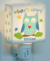 Sandra Magsamen Personalized Boy Owl Night-Light