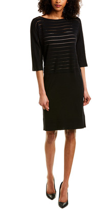 Piazza Sempione Wool & Silk-Blend Sweaterdress