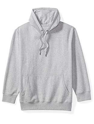 Amazon Essentials Men's Big and Tall Hooded Fleece Sweatshirt fit by DXL