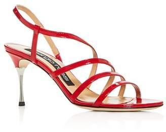 Sergio Rossi Women's Godiva Steel High-Heel Sandals - 100% Exclusive