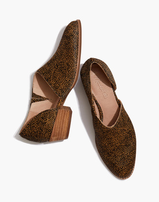 Madewell The Lucie Shoe in Spotted Calf Hair