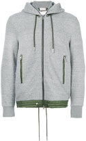 Moncler detachable hooded hoodie - men - Cotton/Polyamide/Lyocell - S