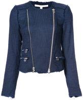 Veronica Beard 'Stevie' fringe jacket - women - Cotton/Polyester/Spandex/Elastane - 2