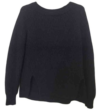soeur Navy Wool Knitwear