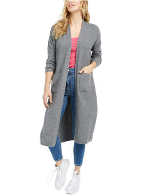 Bar III Becca Tilley x Open-Front Duster Cardigan