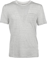 MICHAEL Michael Kors Michael Kors Striped Linen T-Shirt