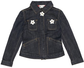 Little Marc Jacobs Stretch cotton-blend denim jacket