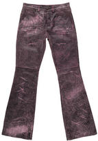 Versace Acid Wash Wide-Leg Pants