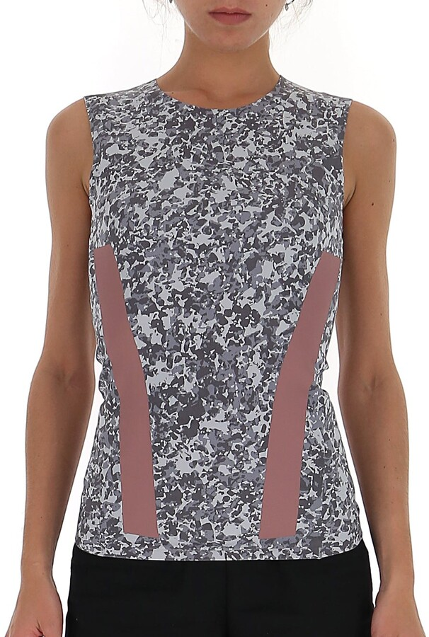 Thumbnail for your product : adidas by Stella McCartney Printed Tank Top