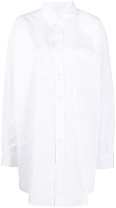 Maison Margiela Oversized Button-Up Shirt