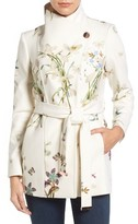 Ted Baker Women's Spring Meadow Wool Blend Wrap Coat