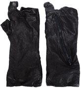 Julius zip detail gloves