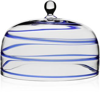 William Yeoward Bella Blue Cake Dome
