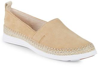 Cole Haan Cloudfeel Leather Espadrille Sandal