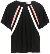 RED Valentino Silk-crêpe Top