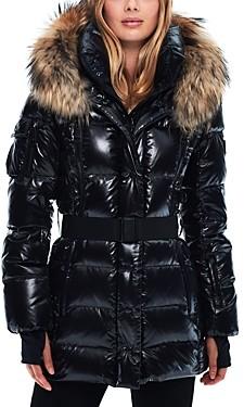 SAM. Millennium Fur Trim Down Coat
