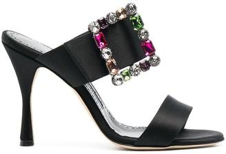 Manolo Blahnik Strappy High-Heel Sandals