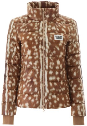 Burberry Deer Print Padded Jacket