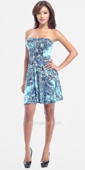 eDressMe Casual Exposed Zipper Dresses by Classique