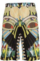 Givenchy Crazy Cleopatra Printed Bermuda Shorts