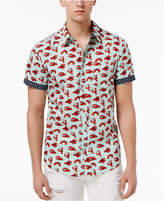Retrofit Men's Graphic-Print Cotton Shirt