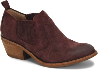 Sofft Pull-On Leather Booties - Adien