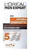 L'Oreal Men Expert Hydra Energetic Anti-Fatigue Moisturising Lotion (50ml) - Pack of 6