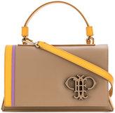 Emilio Pucci embossed logo shoulder bag