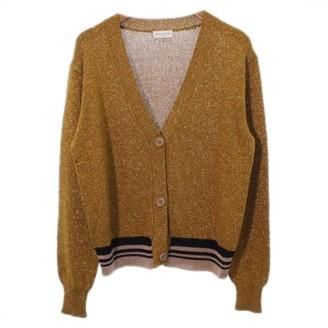 Dries Van Noten Gold Wool Knitwear for Women