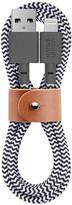 Native Union - Ultra Lightning Belt Cable - Zebra - 1.2m