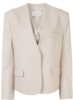 Low Classic Two-Piece Gilet And Jacket Set