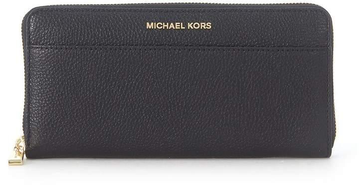 a1bcc3c6b018 Michael Kors Black Metallic Leather Handbags - ShopStyle