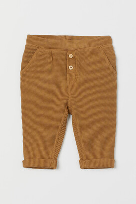 H&M Slub Jersey Pants