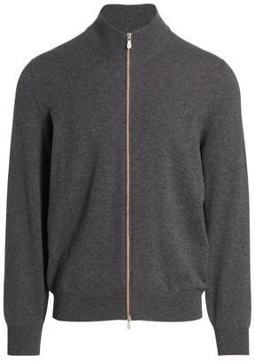 Brunello Cucinelli Cashmere Zip-Up Sweater
