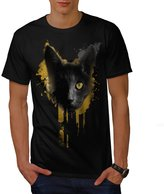 One Eyed Cat Freaky Kitten Men NEW XXXL T-shirt | Wellcoda