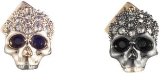Alexis Bittar Mismatch Skull Stud Earring