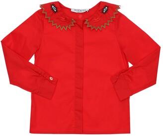VIVETTA Stretch Cotton Poplin Shirt
