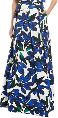 Milly Petal Maxi Skirt